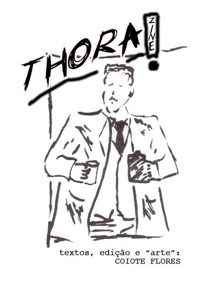 capa do zine thorazine edição 11