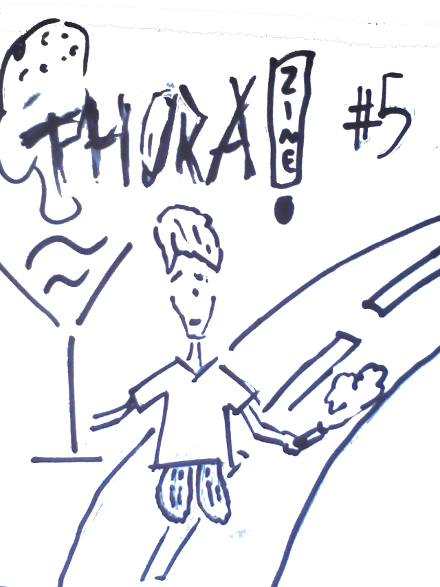 capa ThoraZine numero 5