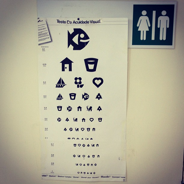 teste acuidade visual