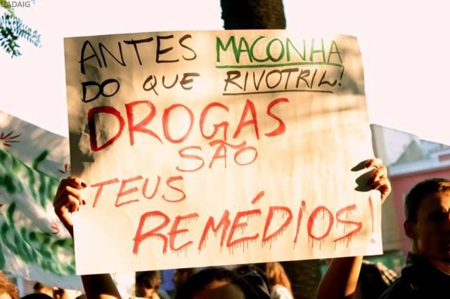 cartaz marcha antiproibicionista