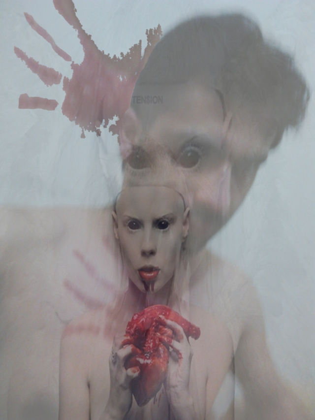[heart eater] coiote flores vs yo-landi (from die antwoord)